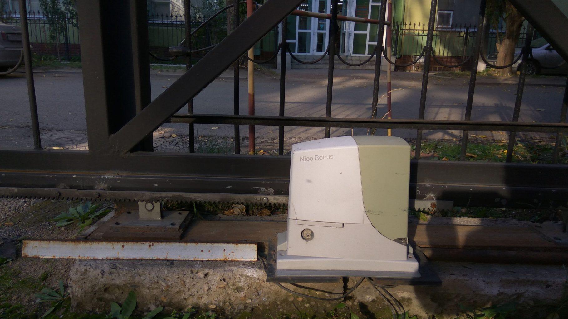 Электропривод Robus на откатные ворота Найс